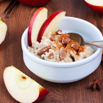 Small crockpot apple pie oats