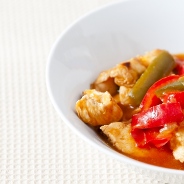 Small red pepper chicken  1