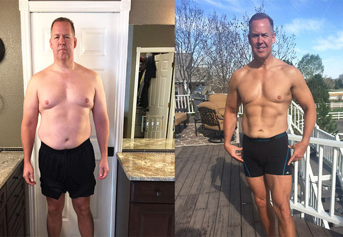 Michael J.'s Transformation photo